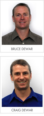 Bruce and Craig Dewar