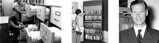 How filing used to be...